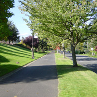 I-205 Path through Mayberry Park