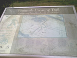 The Peninsula Crossing Trail keeps you on paths and off busy streets